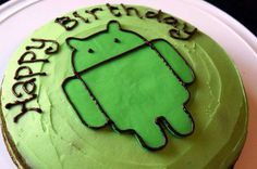 Android birthday cake!