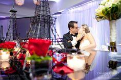 Mariage thème Paris | Tour Eiffel | Chantal Goulet Photographe | Hotel Pur à Québec