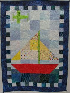 Easter break is over, my daughter is back to school, and I am back to quilting. This quilt was made by Quilters By The Sea for a raffle.   ...
