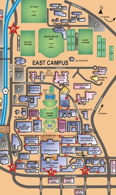 East Campus Maps Visitor Information Places Spaces Wits University