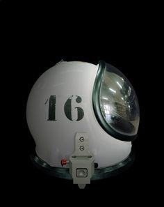Helmet of a SCAPE suit