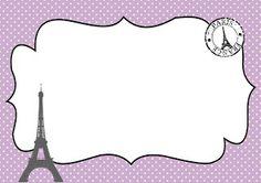 Kit Festa Paris Lilás e Preto (15 anos, Casamento ou Festa Temática)
