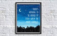 Night Changes  One Direction  1D Lyrics  by ThePrintsandMeShop