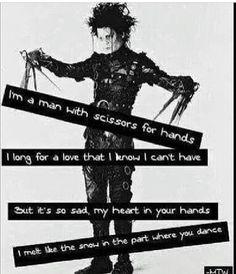 Scissor Hands lyrics