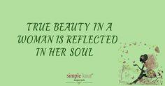 """""""True beauty in a women is reflected in her soul"""" #simplekaur #women #beauty #beautiful #womenwear #punjabiwomenclothing #punjabisuitsonline"""