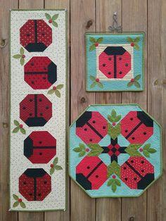 "Suzanne's Art House pattern ""Ladybug Parade"""
