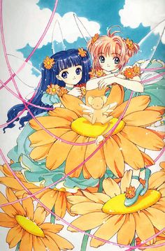 CLAMP - Card Captor Sakura 【Tomoyo, Sakura & Kero】