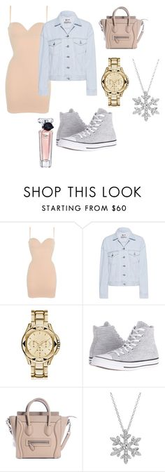 """""""out and about"""" by mrsbieber123-396 ❤ liked on Polyvore featuring Wolford, Acne Studios, Karl Lagerfeld, Converse, Disney and Lancôme"""
