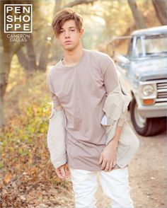 Penshoppe enlists Cameron Dallas as the star of its spring-summer 2017 campaign.