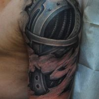 Creepily Realistic Tattoos by Yomico Moreno
