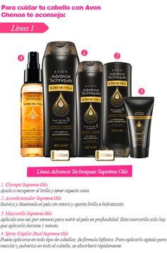 Linea Supreme Oils de Avon