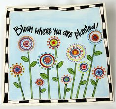 Lollipop Flowers– Thursday, June 27th from 7-9pm $45 per person All Fired Up!