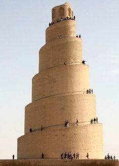 Minaret of Samarra Mosque, Iraq