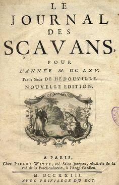 Le journal des savants par Paul&Adam