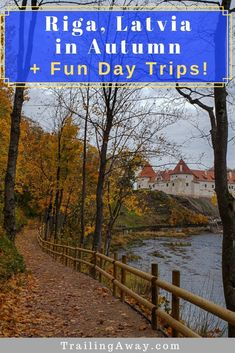 Planning a Riga sightseeing trip? Going in autumn is a wonderful idea and there are great day trips from Riga as well - for lots of colorful drives in Latvia.    #riga #baltics #autumn #latvia via @trailingaway