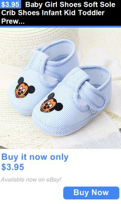Baby Girls Shoes: Baby Girl Shoes Soft Sole Crib Shoes Infant Kid Toddler Prewalker 0-6 Months BUY IT NOW ONLY: $3.95