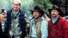 CITY SLICKERS, Daniel Stern, Billy Crystal, Bruno Kirby, 1991, (c)Columbia Pictures/courtesy Everett