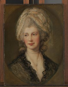 Queen Charlotte  Thomas Gainsborough (English, Sudbury 1727–1788 London) Oil on canvas.
