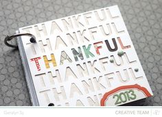 Blog: 30 days of Thankful | Geralyn Sy & Amanda Caves - Scrapbooking Kits, Paper & Supplies, Ideas & More at StudioCalico.com!