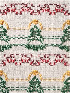 Everything you need to know about stitching on monk's cloth is included in the 5-page how-to section in this 28-page book. Even better, designs for 10 afghans full of Christmas cheer are included. Stitch them to give as gifts to your loved ones and t...