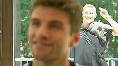 Bastian Schweinsteiger - pranking professional football players since 2004
