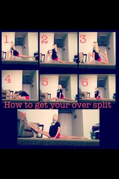 Way more practice than that to get your oversplits.