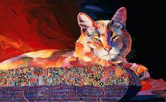 El Gato Sonata Painting  - El Gato Sonata Fine Art Print