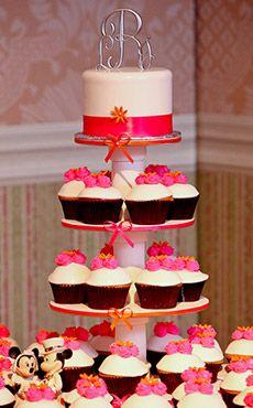 Wedding Cake Wednesday Disneyland Rustic Birch CakeEver After