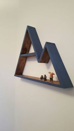 Mountain Shelf In A Stain And/or Color Of Your Choosing. By PortWoodWrks On