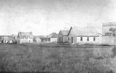 """""""The West was full of young men without women; if she couldn't support herself by honourable means, she would be a bought-and-paid for bride, slave labour on some homestead, or else she would fall and become a putain.""""  Photograph: """"Lake Saskatoon Village"""" by sprarchives is licensed under CC BY-SA 2.0. Young Men, Homesteading, How To Become, Photograph, Bride, Fall, Women, Photography, Wedding Bride"""