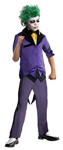 [HALLOWEEN] Rubies DC Super Villains The Joker Costume, Child Large - $34.24 with FREE SHIPING WORLDWIDE! 2 DAYS for ALL USA DELIVERY!!! visit our site ->>> http://HALLOWEEN-CLOTHES.CF