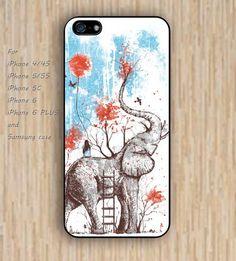 iPhone 5s 6 case elephant case up heart phone case iphone case,ipod case,samsung galaxy case available plastic rubber case waterproof B531