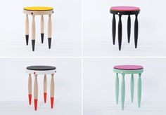 Creative Furniture, Creature, Collective, Behance, and Chairs image ideas & inspiration on Designspiration Kids Furniture, Modern Furniture, Furniture Design, Cricut Design, Decor Interior Design, Home Accessories, House Design, 3d Design, Stools