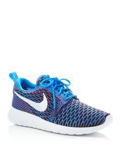 online retailer 486d5 14f61 Nike Women s Roshe One Flyknit Sneakers Shoes - Bloomingdale s