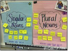 First Grade Fairytales: Working with Plural Nouns & FREEBIES!