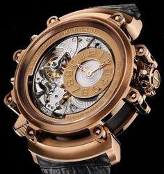 Bvlgari - Gerald Genta - Magsonic Grande Sonnerie watch Unique Watches, Fine Watches, Women's Watches, Luxury Watches For Men, Wrist Watches, Cool Watches, Fashion Watches, Gerald Genta, Bvlgari Watches