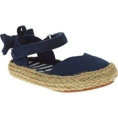 Garanimal Infant Girls' Casual Ankle Strap Shoe, Infant Girl's, Size: 4, Blue