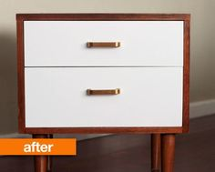 Before & After: Laura's Refreshed Nightstand