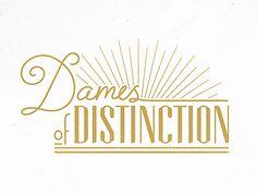 Logo Design - Dames of Distinction