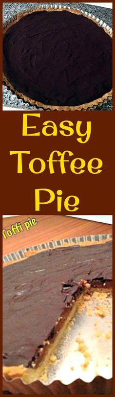 Easy Toffee Pie, del