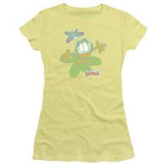 Garfield: Butterfly Junior T-Shirt