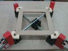 Mitered Frame Clamping System