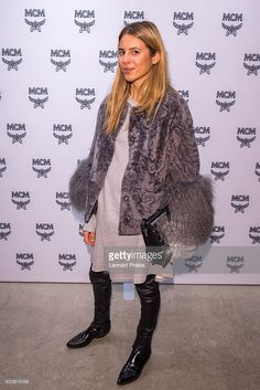 Fashion blogger Maja Wyh attends the MCM 40th Anniversary event on November 17, 2016 in Munich, Germany.