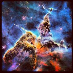 16 отметок «Нравится», 4 комментариев — Sophia Nasr (@astropartigirl) в Instagram: «The Carina Nebula <3»