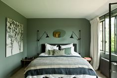 Green bedroom-photo Tillard