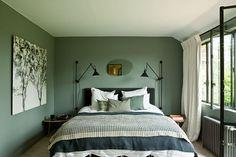 Green bedroom-photo Tillard