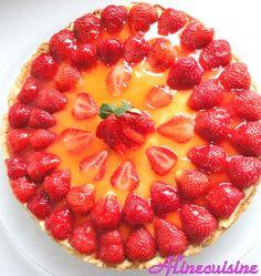 Tarte aux fraises fraîches | Sucreries et desserts | Pinterest
