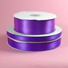 Cecile Grosgrain//Sheer Ribbon PURPLE color 1 1//2 inch wide price for 2 yards