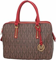 NEW Milan Women Fashion Handbag Monogram Red Tote bag Handbag BM3323 purse…