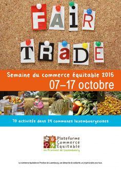 Plus de 70 initiatives luxembourgeoises durant la semaine du commerce équitable !